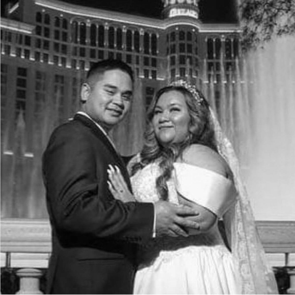 Wedding Couple in Las Vegas